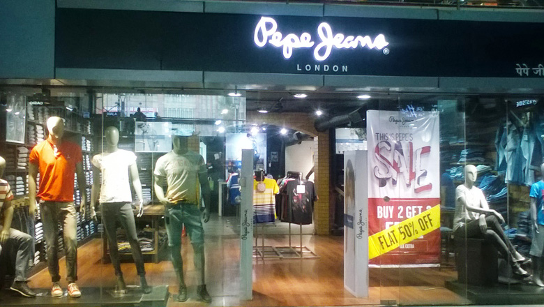 Sgs mall - Pepe jeans showroom ...